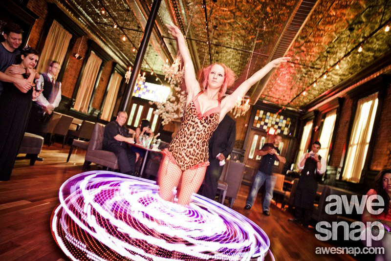 Massachusetts Bar Mitzvah Party LED Hula Hoop Performer Connecticut LED Poi Dancer Rhode Island LED Light Show New Hampshire LED Smart Hoop Blacklight LED Poi Spinner Party