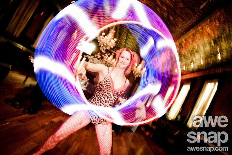 Massachusetts Bachelorette Party LED Hula Hoop Performer Connecticut LED Poi Dancer Rhode Island LED Light Show New Hampshire LED Smart Hoop Blacklight LED Poi Spinner Party